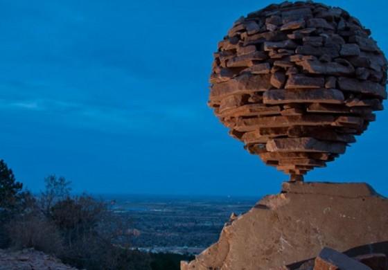 Taştan yaratılan 'Sanat'