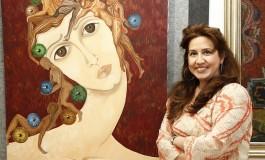 Ressam Nazan Pamuk 'Nefes' Sergisi