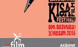 13. Akbank Kısa Film Festivali Başvuruları