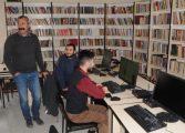 Komünist Başkan Belediye Binasına 10 bin Kitaplı Kütüphane açtı!