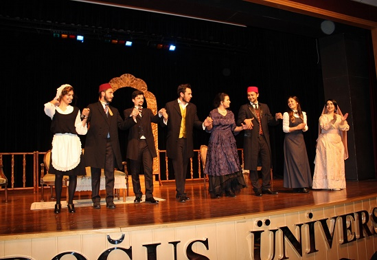 Doğuş Üniversitesi 8. Tiyatro Festivali – Nasuh Bektaş yazdı…