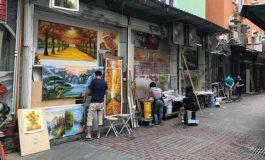Çin'in kopya sanat şehri: 'Dafen'