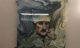 Meclis'te Ebru Sanatından Atatürk Resmi!