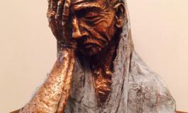 """Arzum Onan heykel yaparsa : """"Cumartesi Annesi"""""""