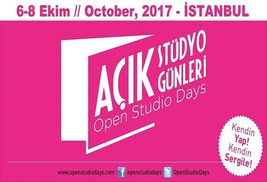 Açık Stüdyo Günleri 2017 // Open Studio Days Istanbul