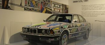'BMW' bir sanat eserine dönüşürse...