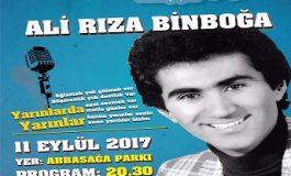 Beşiktaş Belediyesi Abbas Ağa Parkı - Ali Rıza Binboğa'ya Saygı Gecesi