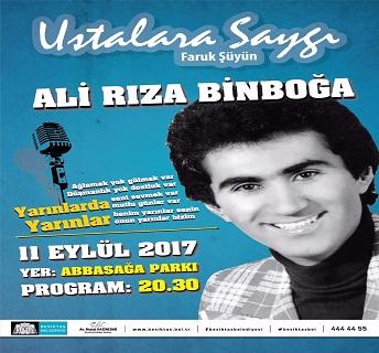 Beşiktaş Belediyesi Abbas Ağa Parkı – Ali Rıza Binboğa'ya Saygı Gecesi