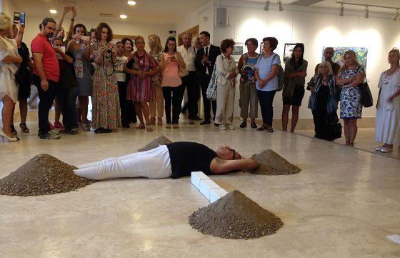 3. Bodrum Bienali açıldı.
