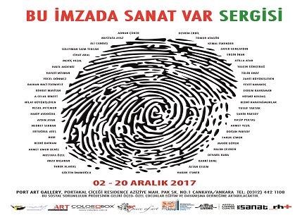 """Ankara Port Art Sanat Galerisi Karma Sergi – """"Bu İmzada Sanat Var"""""""