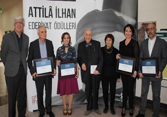 2017 Attilâ İlhan Edebiyat Ödülleri Dağıtıldı.