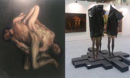 Sanat Fuarında hem resimlere hem heykellere sansür!