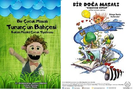 Tiyatro Gülgeç Kozzy Gönül Ülkü Gazanfer Özcan Sahnesi – 'Bir Çocuk Masalı Turunç'un Bahçesi' 'Bir Doğa Masalı Yaşayan Kitap'