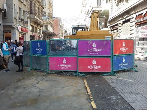 İstiklal Caddesi'nde inşaat çalışmaları neden bitirilmiyor? – Nevzat Yılmaz yazdı…