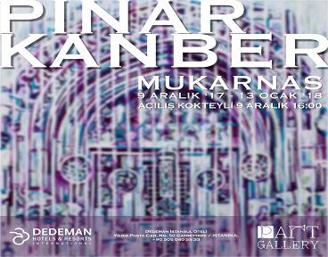 PART Gallery Resim Sergisi – Pınar Kanber 'Mukarnas'