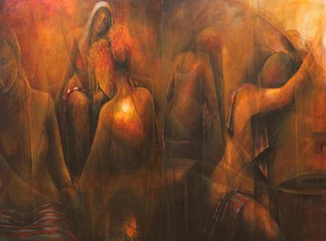 """Galeri İdil Resim Sergisi – Aslı Özen """"Tutku"""""""