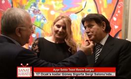 Erol Büyükburç, Ayşe Seda Tezol'un sergisini yorumladı.