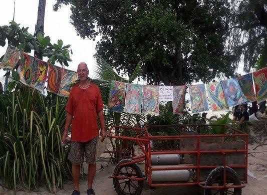 Türk Ressam Filipinler'de sergi açtı!
