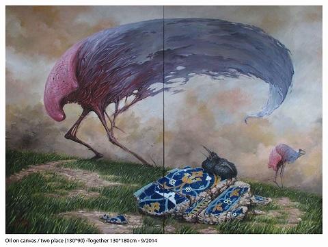 Galeri Diani Resim Sergisi – Hemad Javadzade 'Yersiz Zaman'