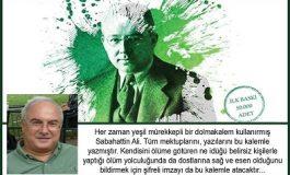 Sabahattin Ali Kültür Merkezi Söyleşi ve İmza Günü - Osman Balcıgil 'Yeşil Mürekkep' Kitabı