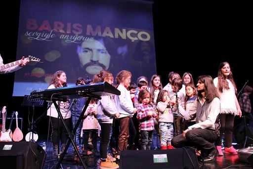 'Barış Manço Anması'nda Çocuklar Sahnede! – Nasuh Bektaş yazdı…