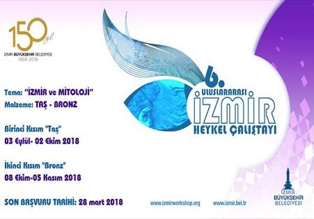 Uluslararası 6. İzmir Heykel Çalıştayı Başvuruları