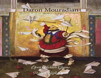 Galeri KHAS Resim Sergisi – DARON MOURADIAN 'Açıkça Gizli Oyun – Open Hidden Game'