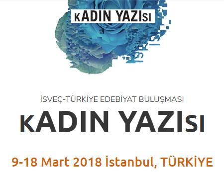 Kadın Yazısı Festivali, Istanbul Performance Art, Türkiye-İsveç Edebiyat Buluşması