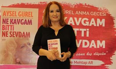 Aysel Gürel'in 'Ne Kavgam Bitti Ne Sevdam' kitabı tanıtıldı.