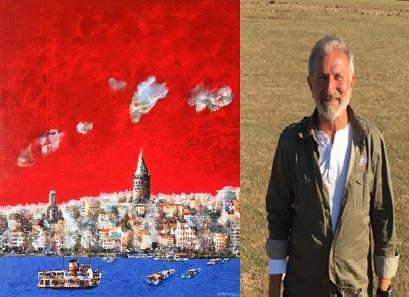 """Galeri İdil Resim Sergisi – Gafur Uzuner """"Kırmızının Kıyısında"""""""