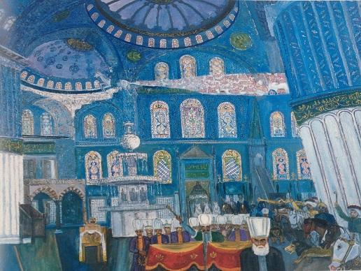 Cihat Burak'ın 'Ahmediye' resmi ile birlikte sergilenmesini istediği hikaye – Oğuz Kemal Özkan yazdı…