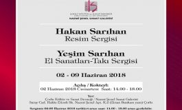 Çorlu Nazmi Şenel Sanat Galerisi Sergi - Hakan Sarıhan-Resim, Yeşim Yerebasmaz Sarıhan-El Sanatları ve Takı