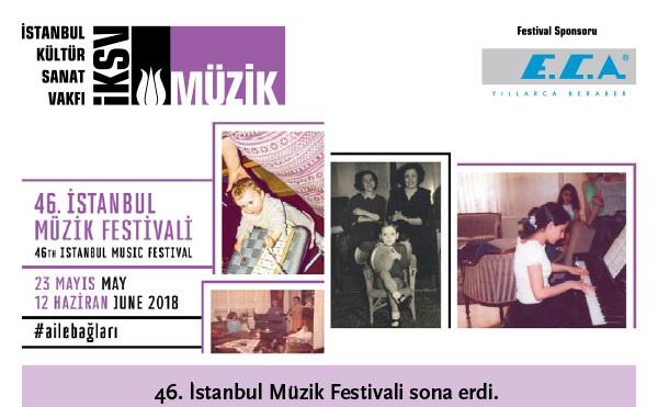 46. İstanbul Müzik Festivali Sona Erdi!