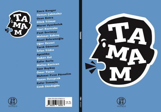 ba51204737f24 22 Sanatçı ve Aydın bu kitapta 'TAMAM' dedi! - Kitaptan Sanattan ...