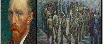 Van Gogh'un kendisini çizdiği eseri 'Tutuklular Çemberi'