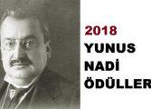 2018 Yunus Nadi Ödüllerinin sahipleri belli oldu!