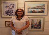 Fatma Tan'ın suluboya resimleri Adalar'da!