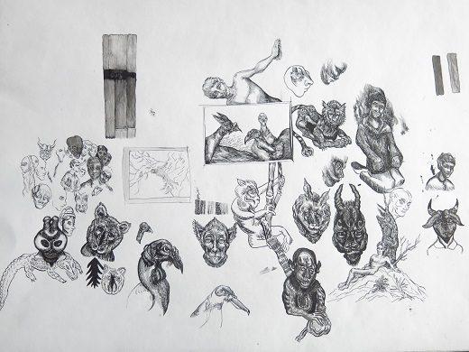 """Kare Sanat Galerisi Karma Sergi – """"Tinsel Kuşatma"""""""