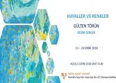 """VENÜS Sanat Galerisi Resim Sergisi - Gülten Pekindağ Törün """"Hayaller ve Renkler"""""""
