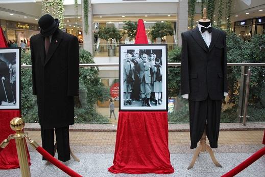 """""""Atatürk Kostümleri Sergisi"""" Başkent'te açıldı."""