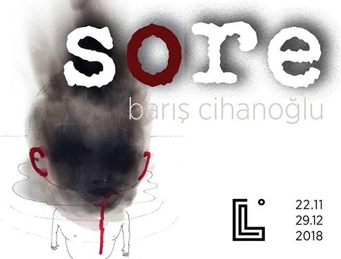 "Labirent Sanat Solo Sergi – Barış Cihanoğlu ""Sore"""
