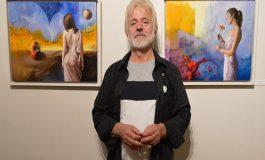Makedon sanatçı 'Anılar'ı renklendirdi!