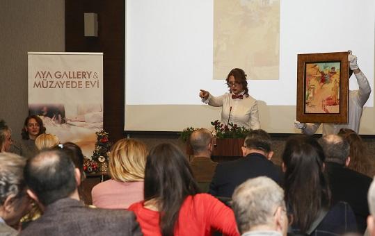 AYA Gallery & Müzayede Evi'nden Yeni Yıl Müzayedesi