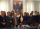GÜLTEN DAYIOĞLU AZERBAYCAN'DA ÜNİVERSİTELİLERLE BULUŞTU