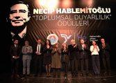 Necip Hablemitoğlu Toplumsal Duyarlılık Ödülleri dağıtıldı.