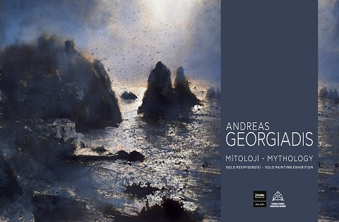 "Istanbul Concept Gallery Resim Sergisi – Andreas Georgiadis ""Mitoloji"""
