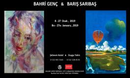 Galeri Artist Editions ve City's Nişantaşı Resim Sergisi - Bahri Genç, Barış Sarıbaş