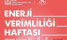 Makina Mühendisleri Odası İstanbul Şubesi - Enerji Verimliliği Haftası Etkinlikleri
