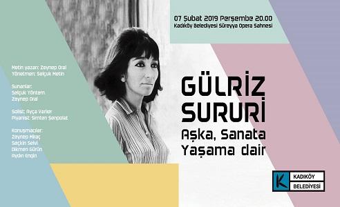 Kadıköy Belediyesi Süreyya Operası – Gülriz Sururi'yi Anma