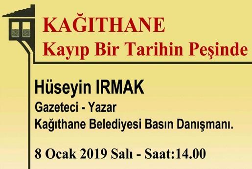 Türkiye Tarihi Evleri Koruma Derneği Konuşma – Hüseyin Irmak 'Sadabad Eserleri ve Hikayeleri'
